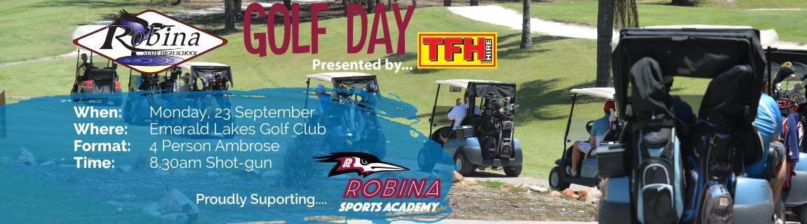 Robina SHS Golf Day